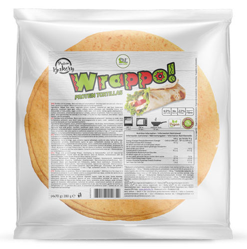 DAILY LIFE - WRAPPO Protein-Tortillas